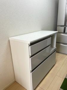 キッチンの模様替え。ニトリのキッチンカウンターアルミナ2を購入